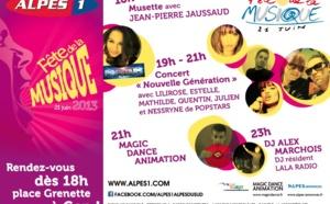 Alpes 1 fête la musique