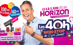 Horizon : une émission de 40 heures pour fêter la radio