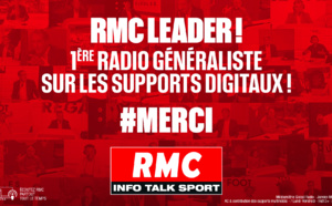 RMC : près de 30% de l'audience réalisés sur les supports numériques