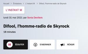 L'animateur Difool s'exprime sur... France Inter