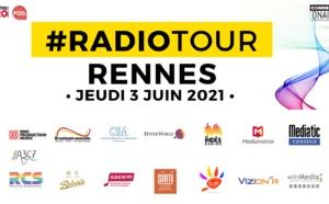 Le  #RadioTour à Rennes, c'est demain jeudi