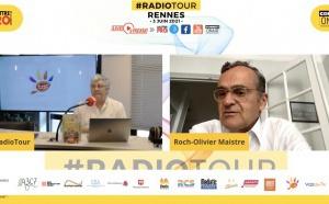 "RadioTour Rennes : ""On a besoin de se rassembler"" selon Roch-Olivier Maistre"