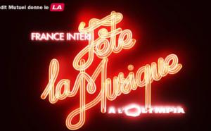France Inter fête la musique en direct de l'Olympia