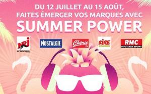 """NRJ Global et Altice Media Ads & Connect lancent """"Summer Power"""""""