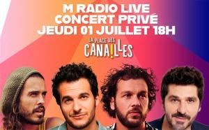 Les concerts reprennent chez M Radio