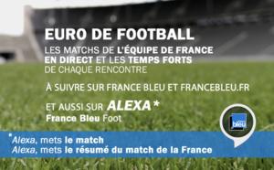 L'Euro sur France Bleu et sur les enceintes connectées