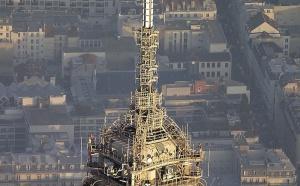 TDF : travaux de maintenance sur les installations de la Tour Eiffel