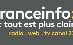 franceinfo est la 2e radio la plus écoutée en Île-de-France