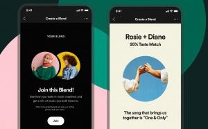 """Spotify lance la fonctionnalité """"Blend"""""""