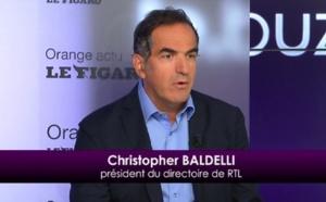"""Baldelli : """"RTL est clairement en tête"""""""