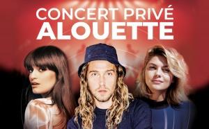 """Alouette : premier """"Concert Privé"""" de la saison"""