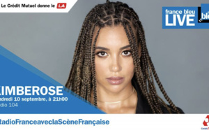 La chanteuse Kimberose en concert avec France Bleu