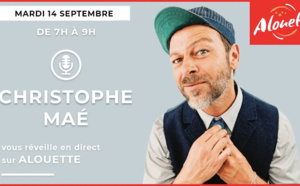 Alouette : Christophe Maé, premier invité de la saison