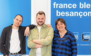 La matinale de France Bleu Besançon sur France 3