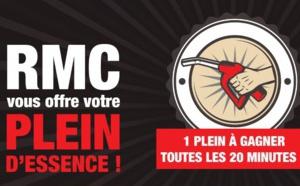 RMC : un plein d'essence à gagner toutes les 20 minutes