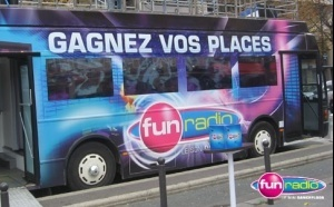 Dans le bus de Fun Radio