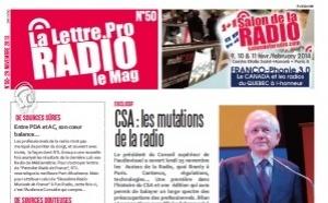 Voici votre magazine n°50 de la Lettre Pro de la Radio et des Médias