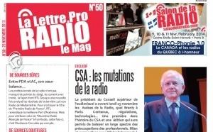 La Lettre Pro de la Radio : découvrez le n° 50