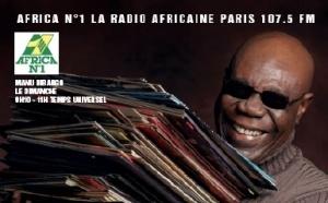Manu Dibango fête ses 80 ans sur Africa n°1