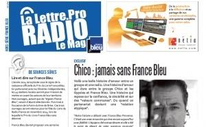 "La Lettre Pro de la Radio passe en ""mode bleu"""