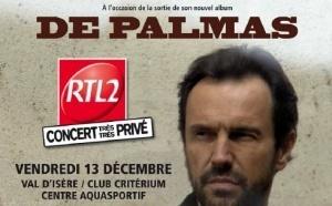 """RTL2 : """"Concert Très Très Privé"""" à Val d'Isère"""