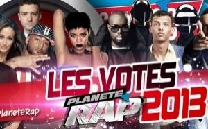 Coup d'envoi des votes Planète Rap