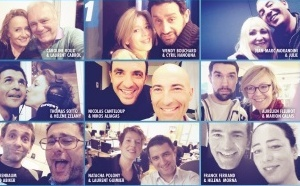 Europe 1 en mode Selfie