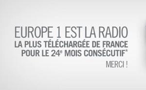 Europe 1 : 7 173 000 podcasts téléchargés