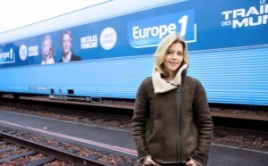 Départ du Train Europe 1 des Municipales 2014