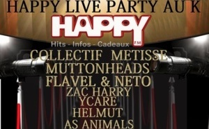 Happy Live Party pour Happy FM
