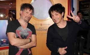 Indochine inaugure son studio