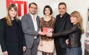 RTL : Marion Larat élue Femme de l'année 2013