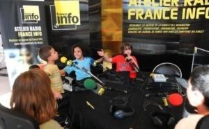 France Info : un atelier radio pour les jeunes