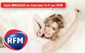 Kylie Minogue en interview V.I.P. sur RFM
