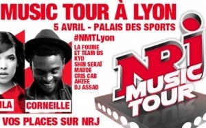 NRJ Music Tour fait étape à Lyon