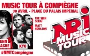 """Le """"NRJ Music Tour"""" fait étape à Compiègne"""