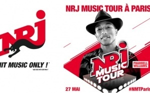 Pharrell Williams au NRJ Music Tour de Paris