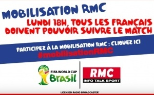 Foot : RMC lance un appel