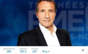 300 000 followers pour Bourdin