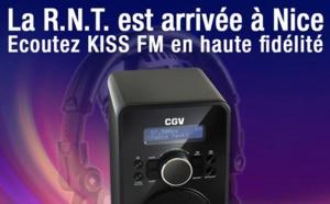 Kiss FM diffuse désormais en RNT