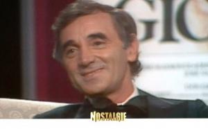 Nostalgie en campagne avec Aznavour