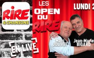 """Les """"Open du Rire"""" en direct sur Rire & Chansons"""