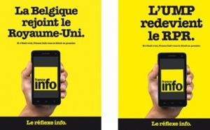 """""""Le réflexe info"""" : nouvelle campagne pour France Info"""