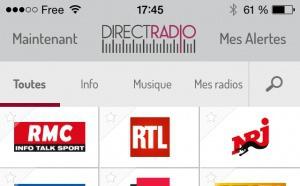 L'application Direct Radio est disponible