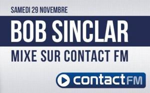 Bob Sinclar mixe sur Contact FM