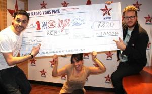 Ce matin, Rémy a gagné 1 an de loyer sur Virgin Radio