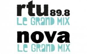 RTU à Lyon reprend l'identité sonore et visuelle de Radio Nova