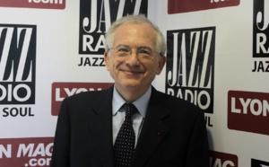 Olivier Schrameck au micro de Jazz Radio