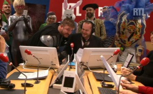 Fun Radio fête le carnaval dans les studios de RTL