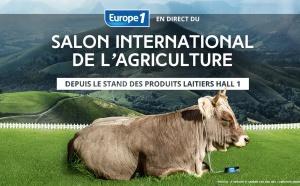 Europe 1 au Salon de l'Agriculture